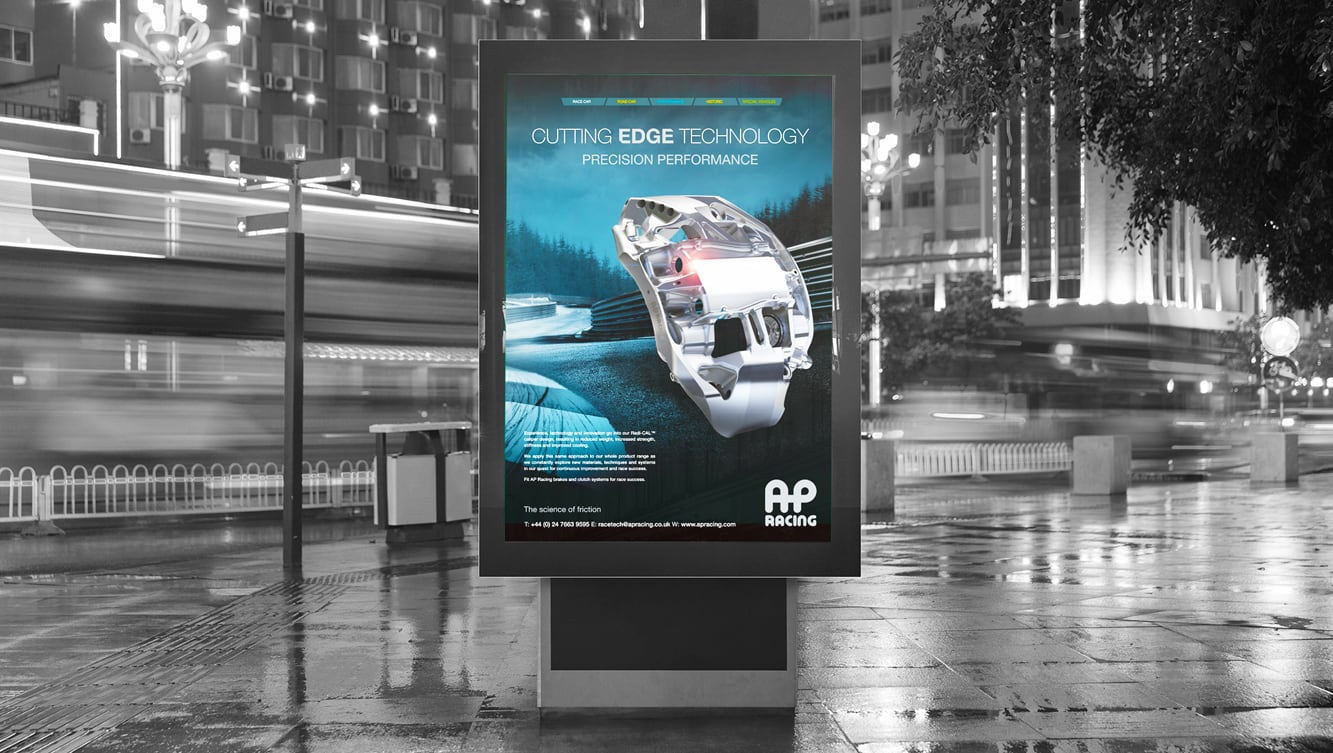 AP Racing Advertising Campaign
