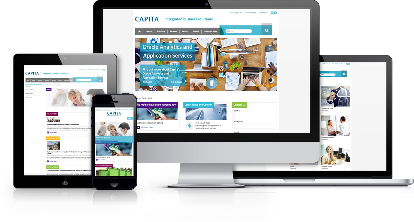 Capita IB Solutions Website